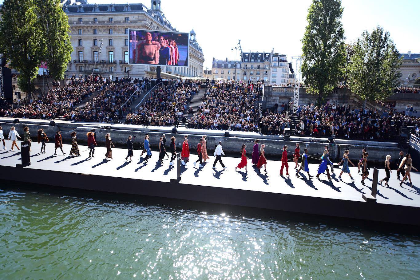 Défilé L'Oréal Paris 2018